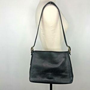 Vintage Coach Legacy West Studio Flap Bag 9828